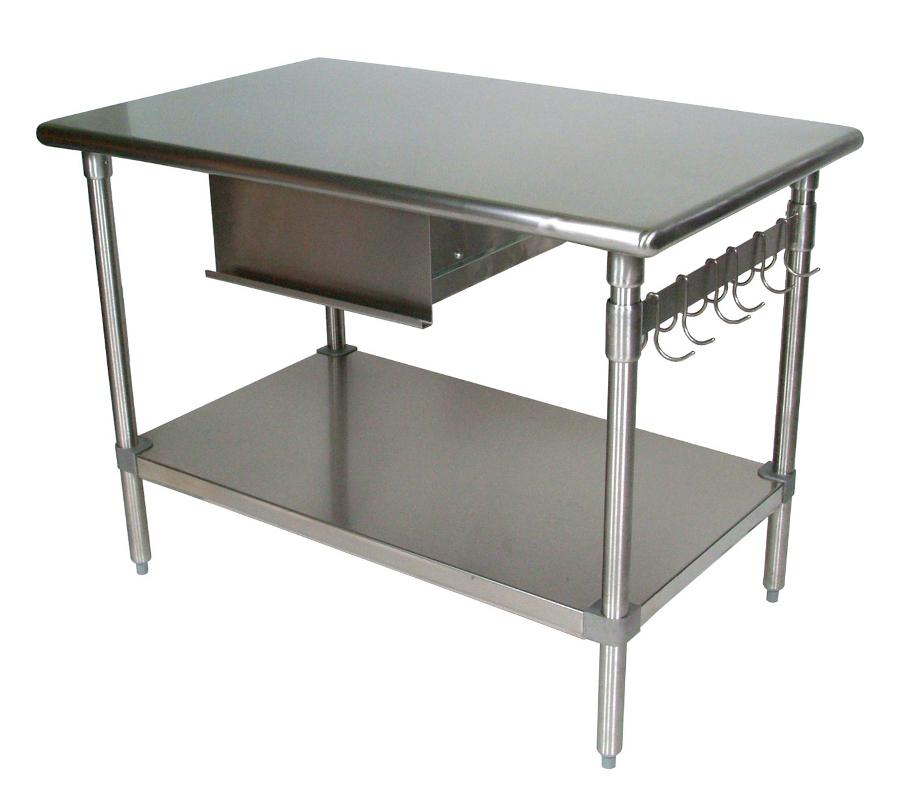 Cómo elegir las mesas de trabajo para su cocina2