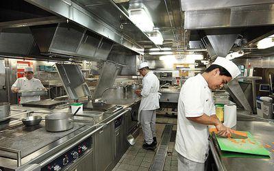 Equinox-La cocina industrial zona de preparación de alimentos-B