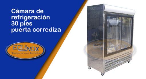 Equinox-Cámara de refrigeración 30 pies puerta corrediza-A