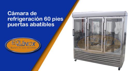 Equinox-Cámara de refrigeración 60 pies puertas abatibles-A