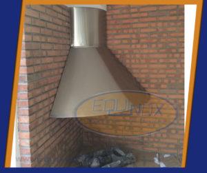 Equinox-Campana curva extractora de humo y grasa-B