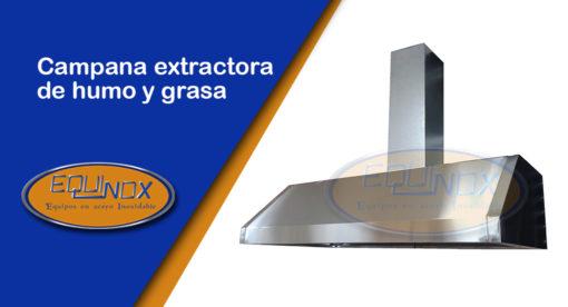 quinox-Campana extractora de humo y grasa-A