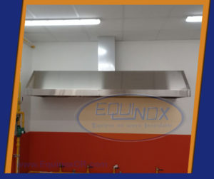 Equinox-Campana extractora de humo y grasa-C