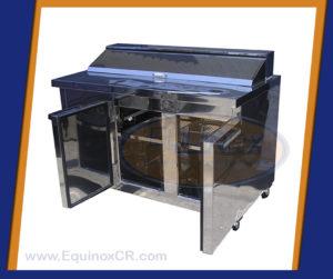 Equinox-Mesa refrigerada con capucha-B
