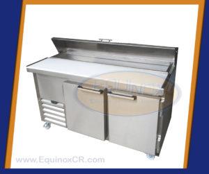 Equinox-Mesa refrigerada con capucha y tabla de picar-B