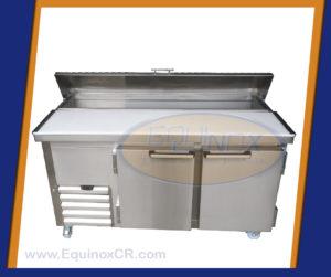 Equinox-Mesa refrigerada con capucha y tabla de picar-C