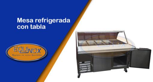 Equinox-Mesa refrigerada con tabla-A