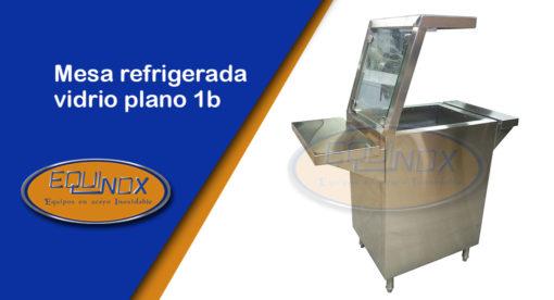 Equinox-Mesa refrigerada vidrio plano 1b-A