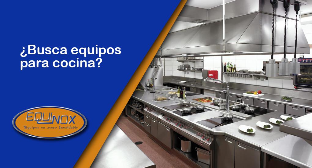 Equinox - Busca equipos para cocina