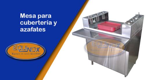 Equinox-Mesa para cubertería y azafates-A