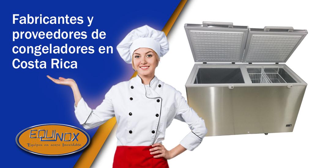 Equinox-Fabricantes y proveedores de congeladores en Costa Rica
