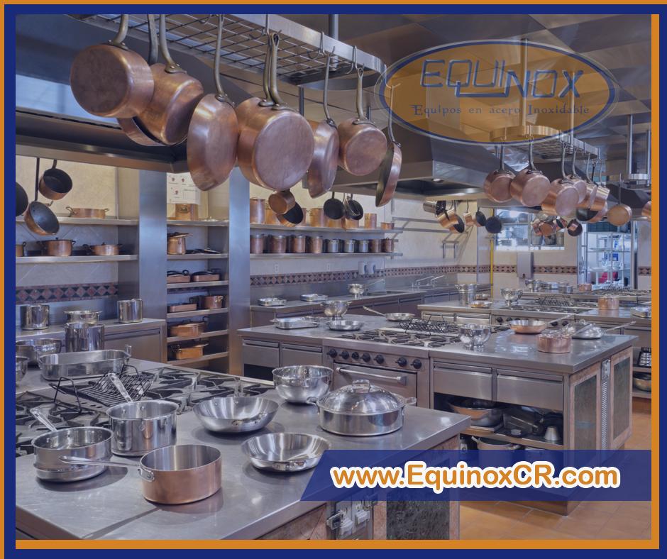 Equinox - Lista de equipamento de cocina para un restaurante-B
