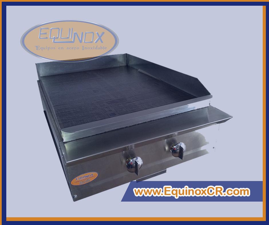 Planchas de cocina industrial