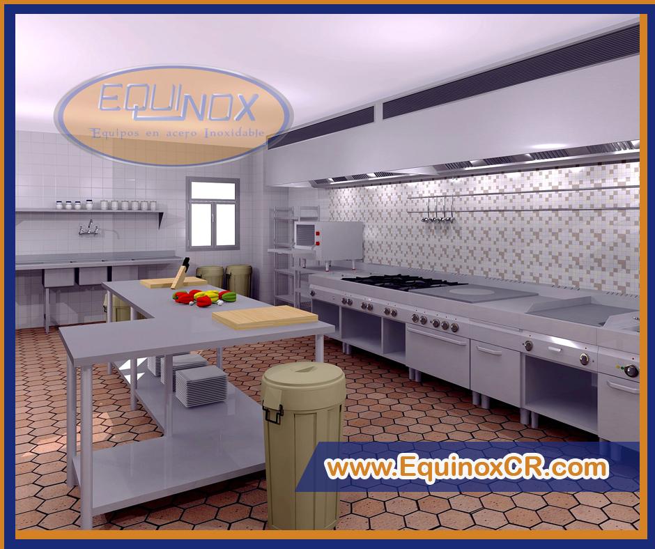 Diseño de cocinas industriales o de restaurantes