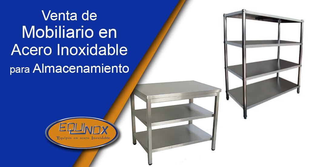 Equinox-Venta de mobiliario en acero inoxidable para almacenamiento