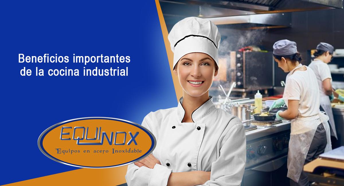 Beneficios importantes de la cocina industrial