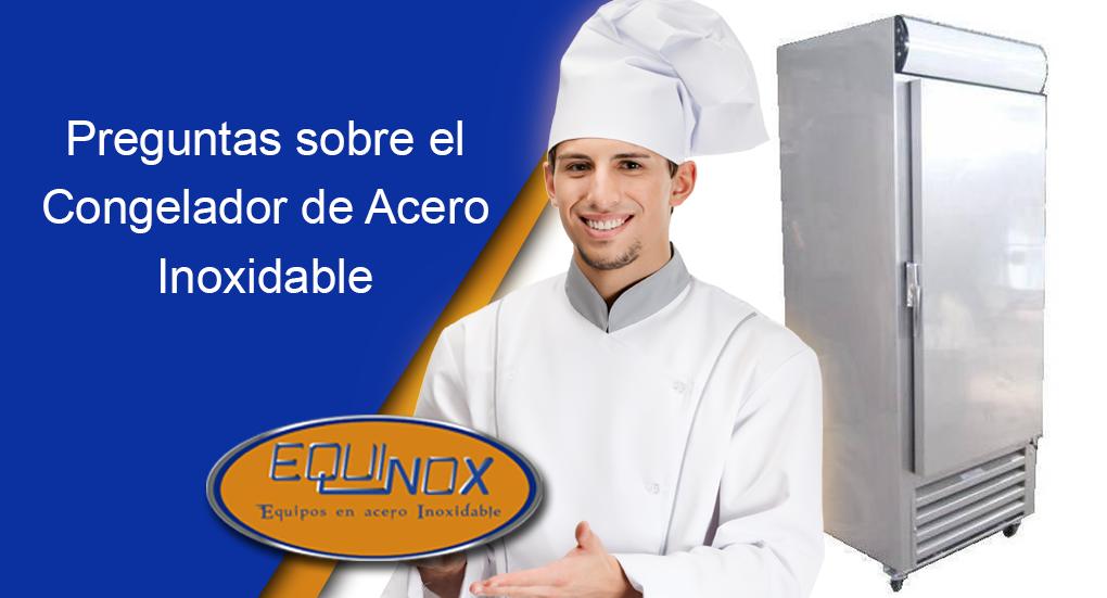 Equinox-Preguntas sobre el congelador de acero inoxidable
