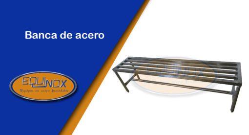 Equinox-Banca de acero1-A