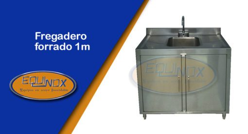 Equinox-Fregadero forrado 1m-A