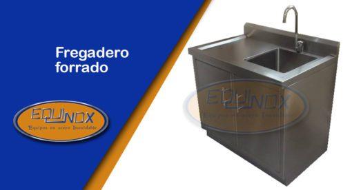 Equinox-Fregadero forrado-A