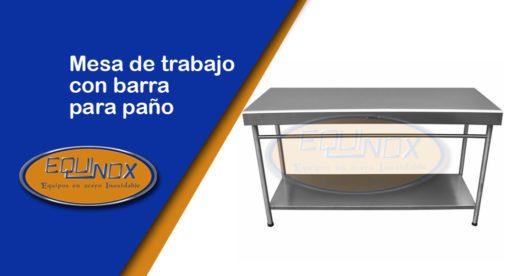 Equinox-Mesa de trabajo con barra para paño-A