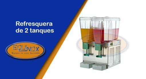 Equinox-Refresquera de 2 tanques-A